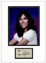 Karen Carpenter Autograph Signed Display